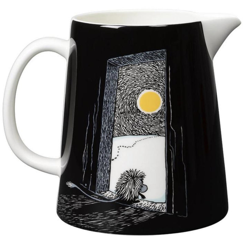 Moomin Pitcher Ancestor Black 1.0 L - .