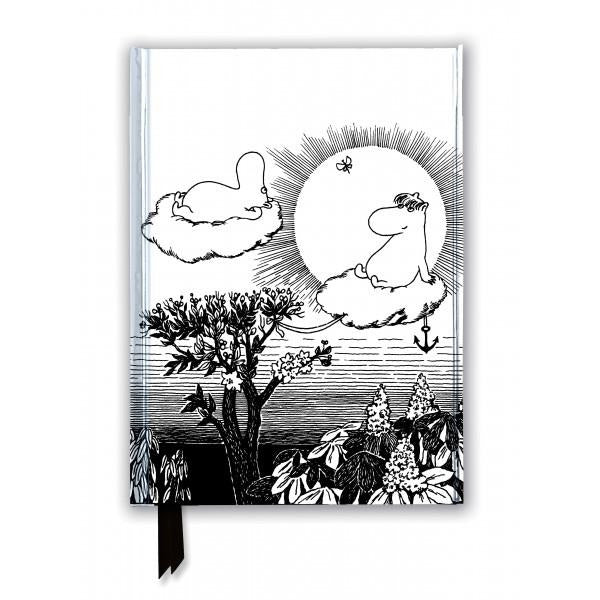 Moomintroll And Snorkmaiden  (Foiled Journal) Notebook - .