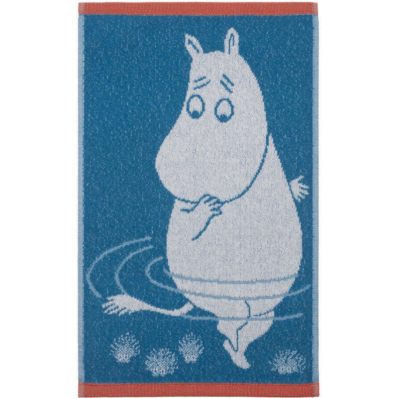 Hand Towel Moomintroll Light Blue - .