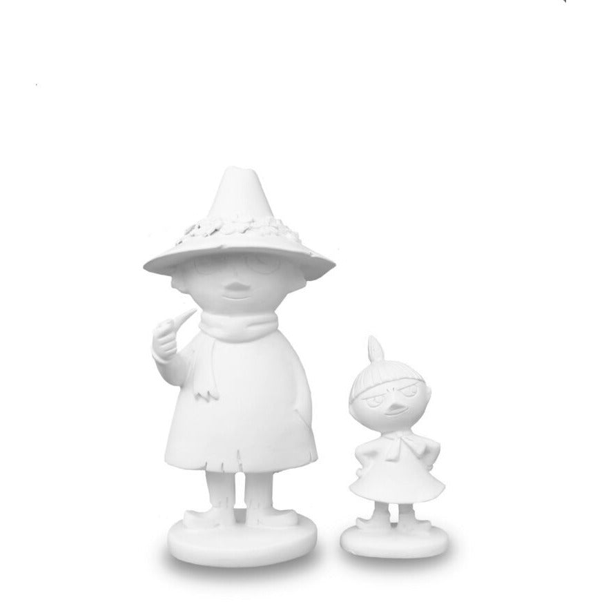 Moomin Figurines 2 Pcs Snufkin And Little My #oursea - .