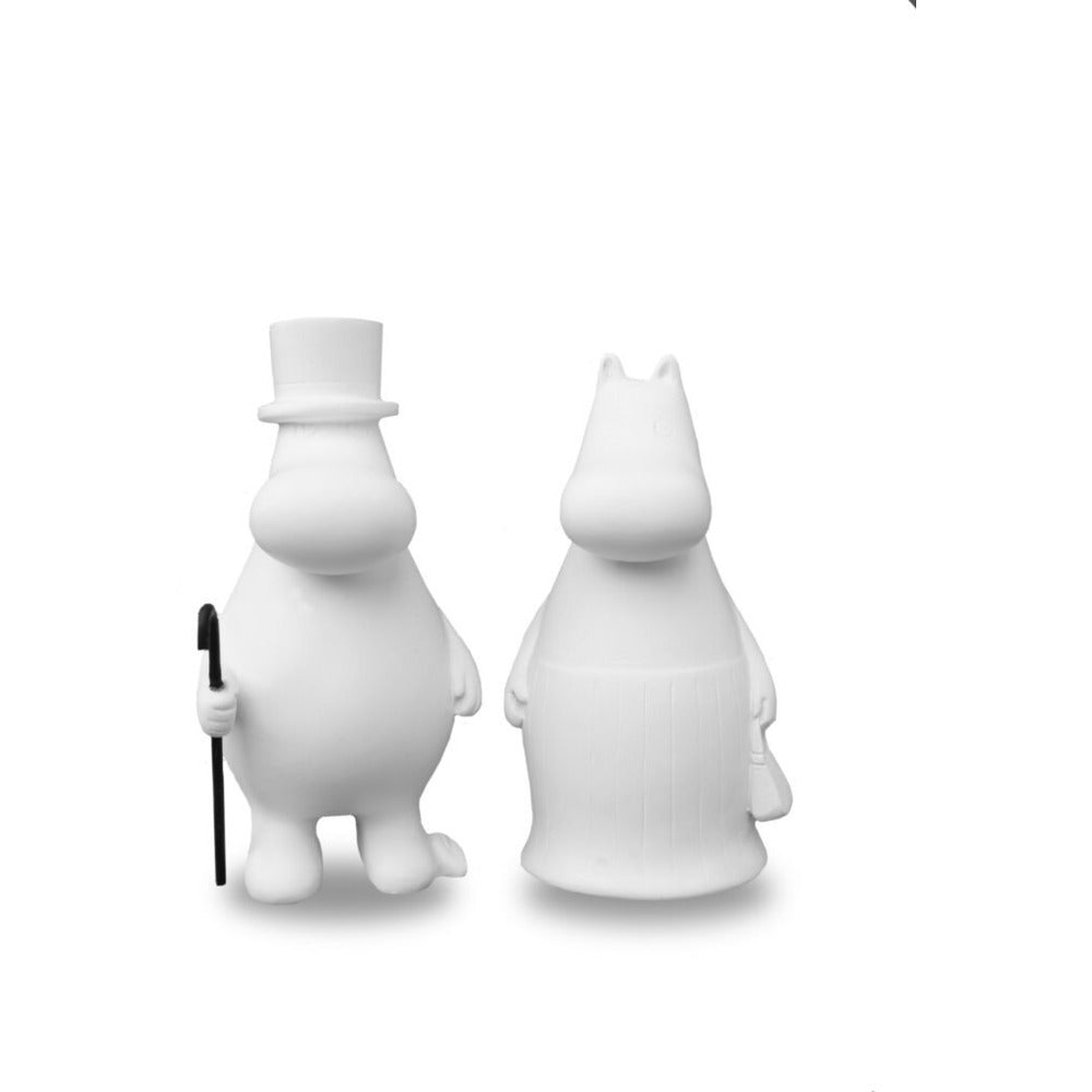 Moomin Figurines 2 Pcs Moominmamma And Moominpappa #oursea - .