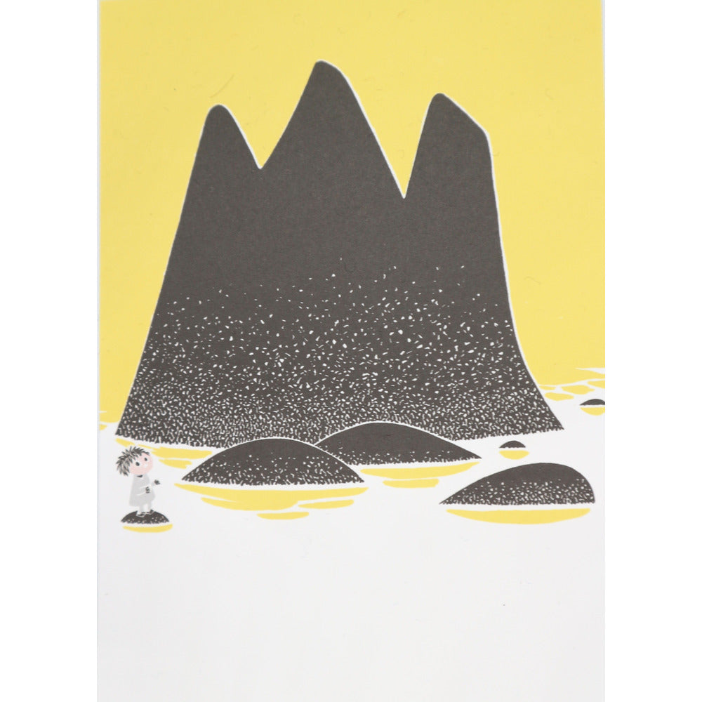 Postcard Toffle Yellow - .