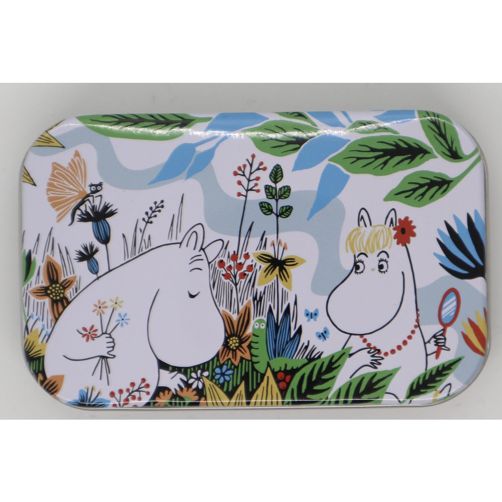 Moomin Summer Day Mini Tin Moomintroll And Snorkmaiden - .