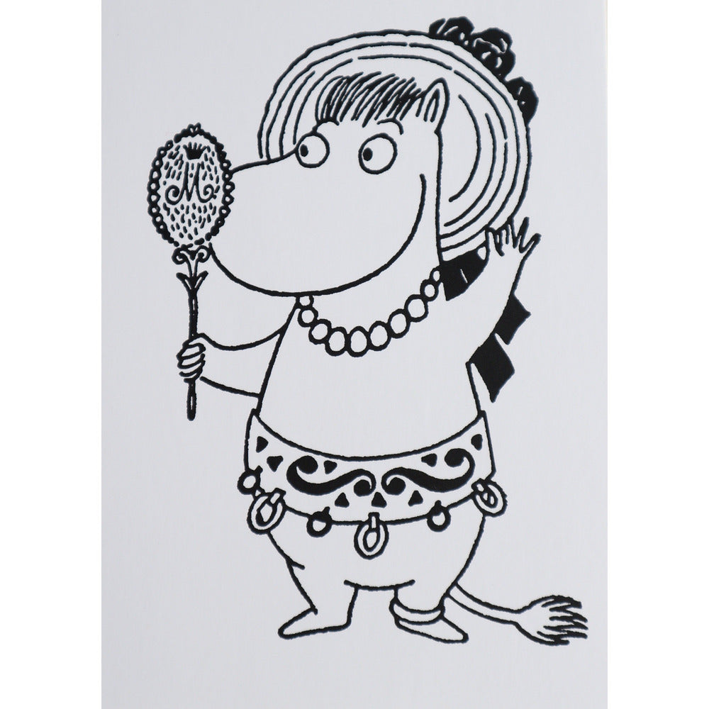 Postcard Fancy Snorkmaiden - .