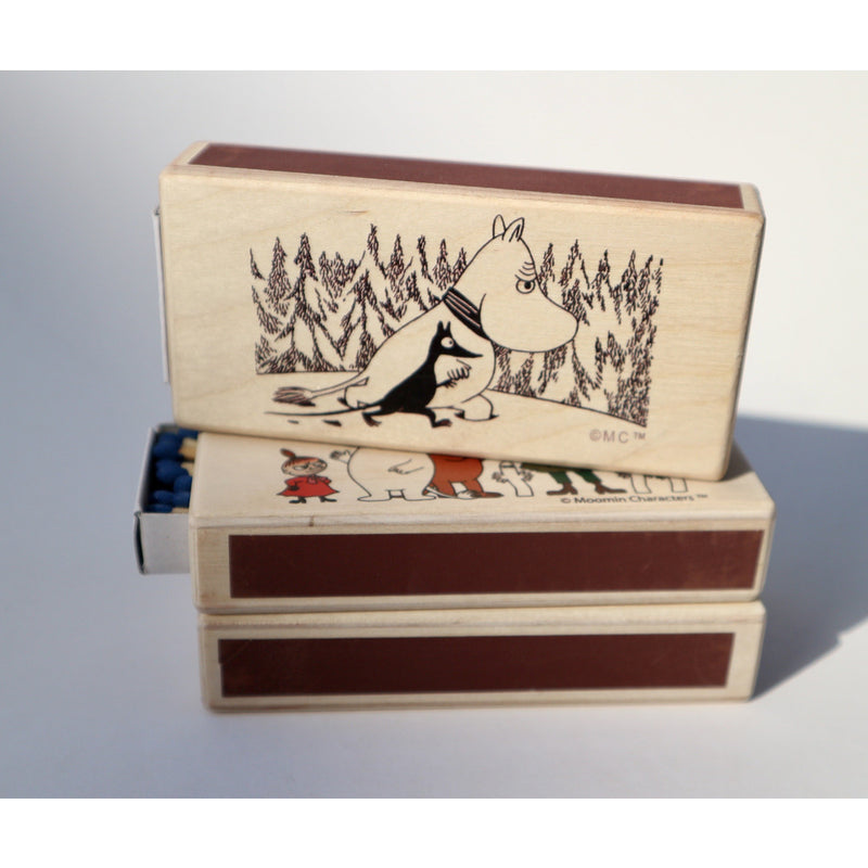 Wooden Match Box Winter - .