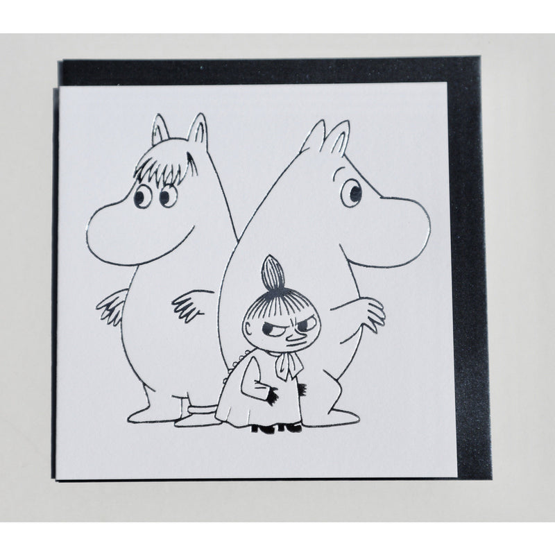 Greeting Card Moomintroll, Snorkmaiden And Little My - .