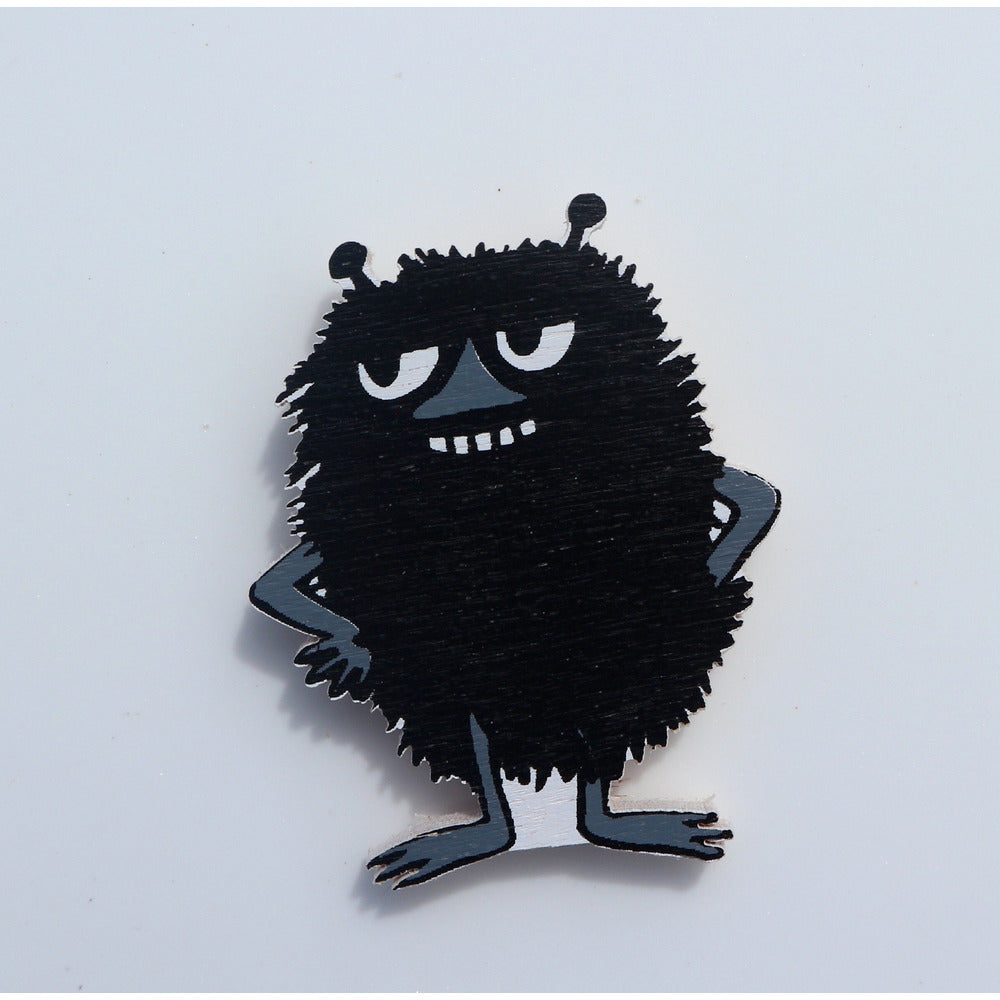 Wooden Magnet Stinky - .