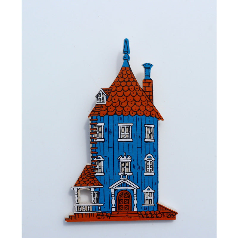 Wooden Magnet Moomin House - .