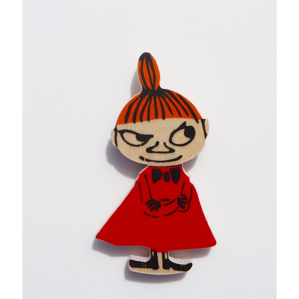 Wooden Brooch Little My - .