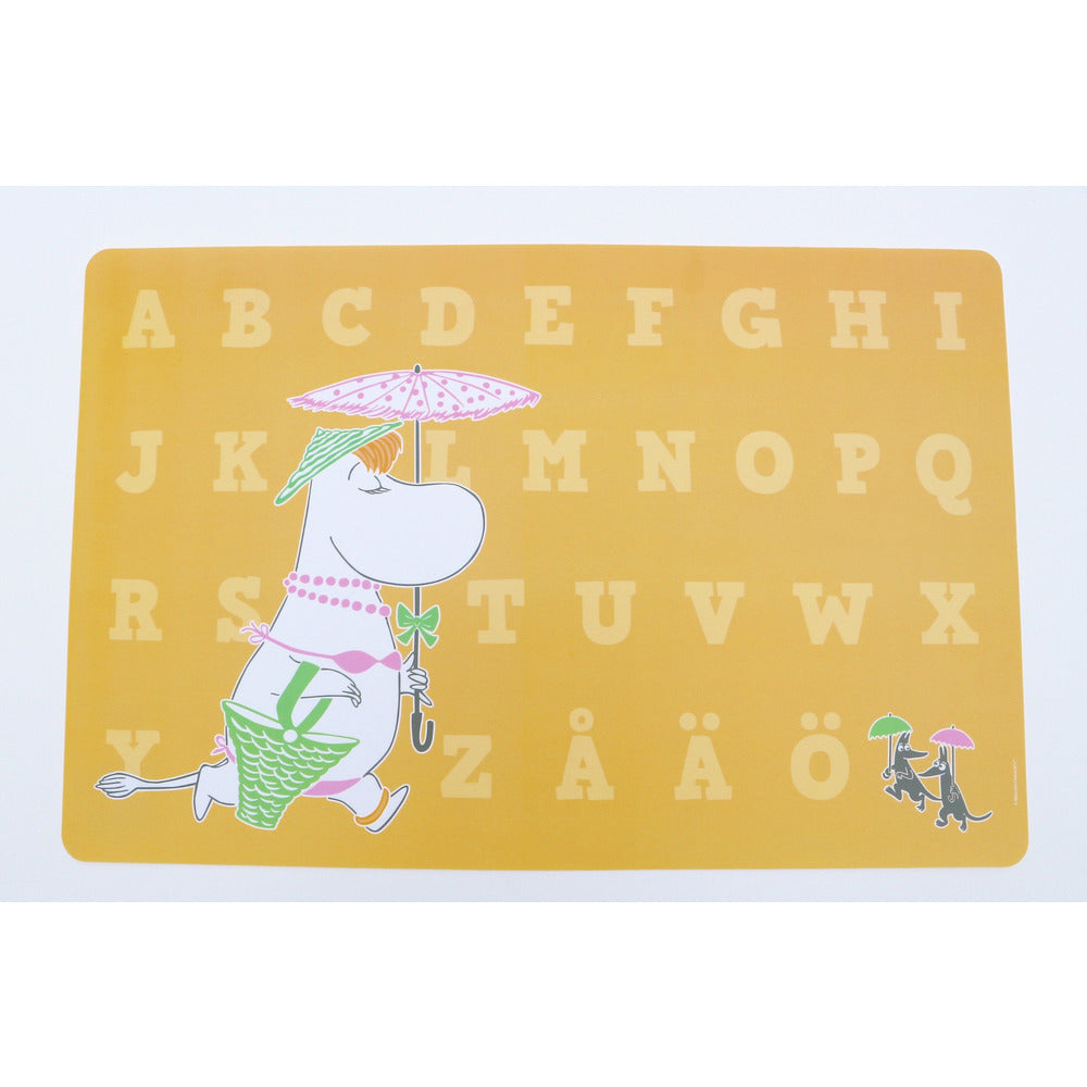 Moomin Placemat Snorkmaiden Yellow