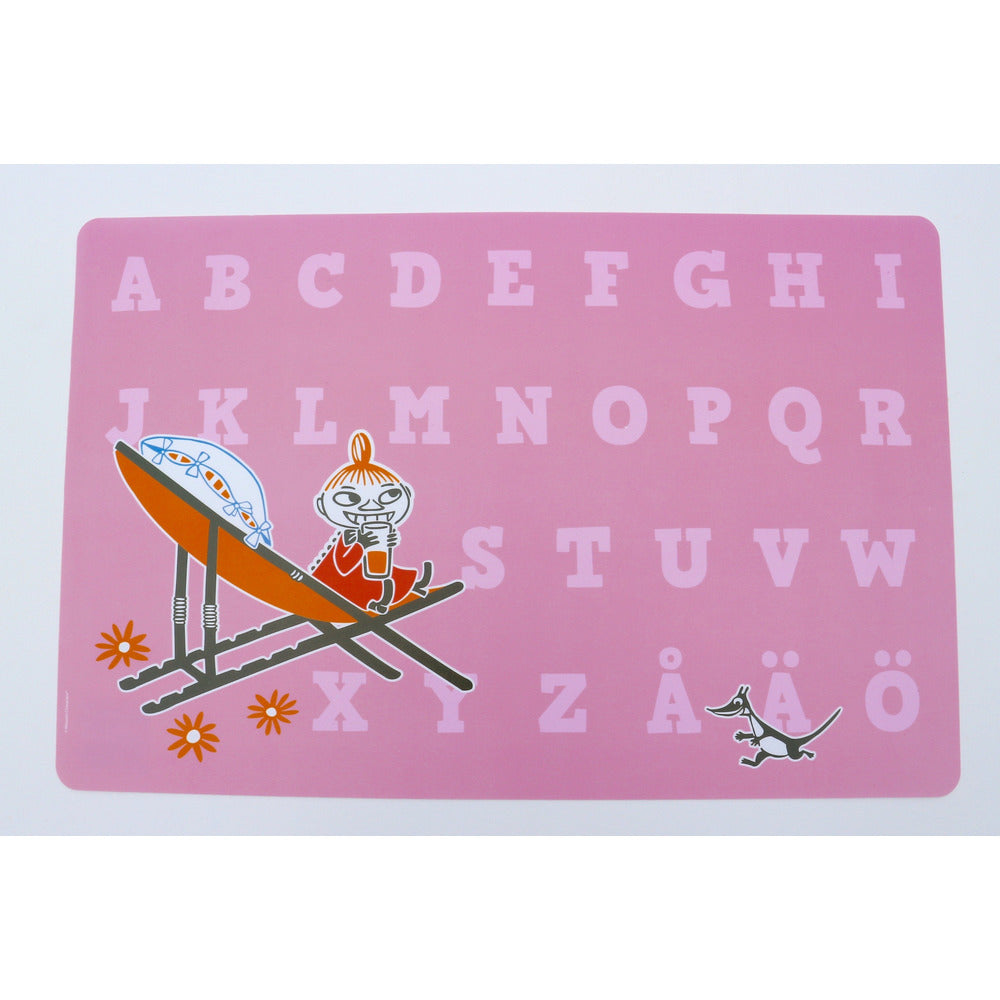Moomin Placemat Little My Pink