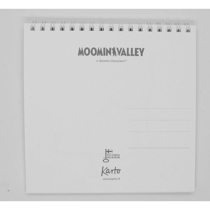 Booklet with 10 Moomin Postcards from Moominvalley TV-series - .