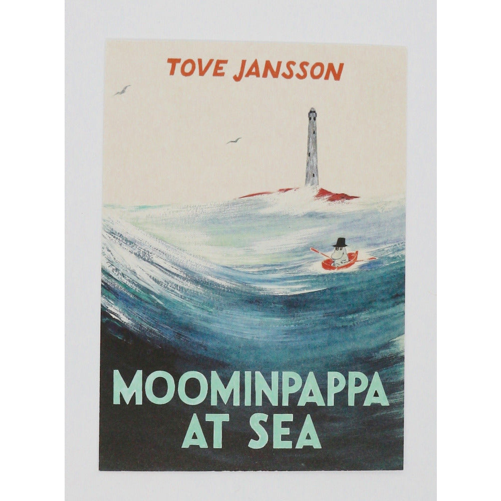 Postcard Moominpappa At Sea