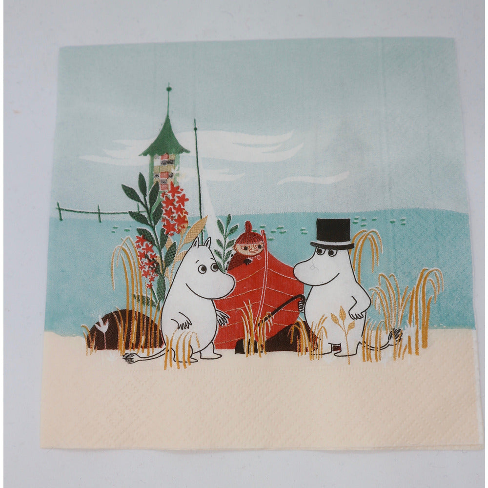 Moomin Paper Napkin Boat On Beach #oursea - .