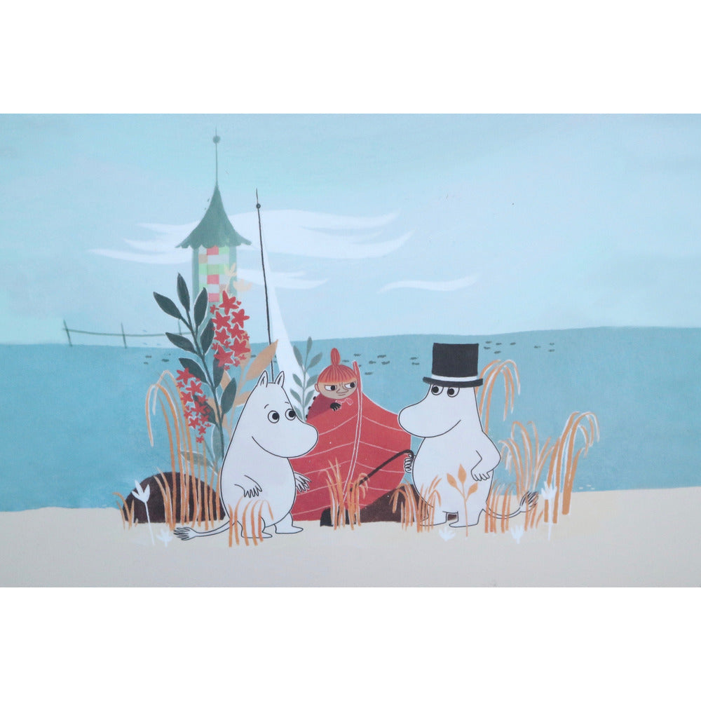 Moomin Placemat Boat On Beach #oursea - .