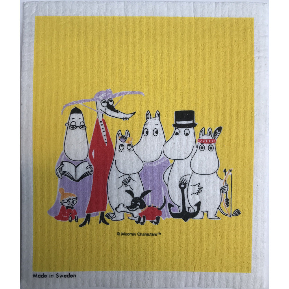 Dishcloth Family Yellow - .