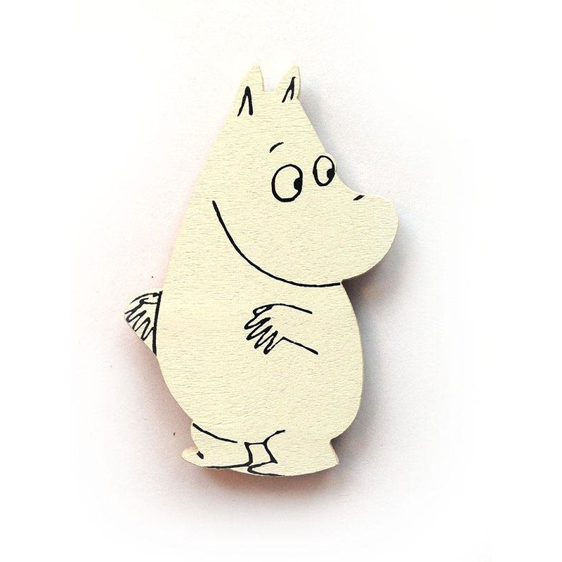 Wooden Magnet Moomintroll - .