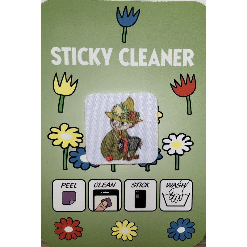 Snufkin Sticky Cleaner Sticker - .