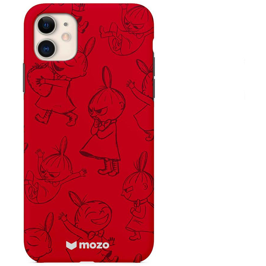 Moomin Back Cover for iPhone 11 Little My Red - .