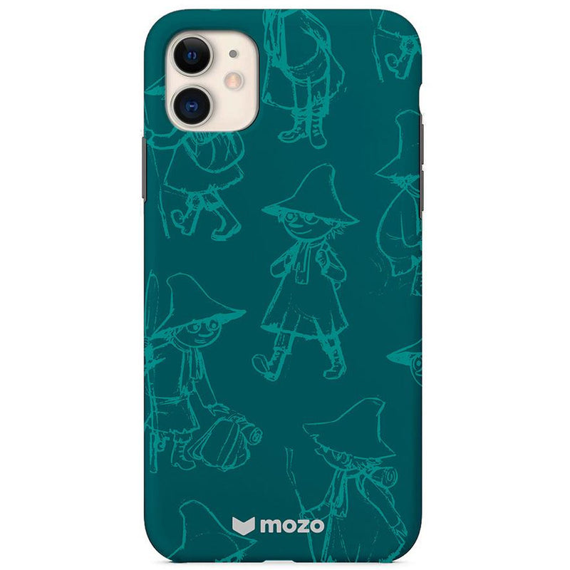 Moomin Back Cover for iPhone 11 Snufkin Green - .