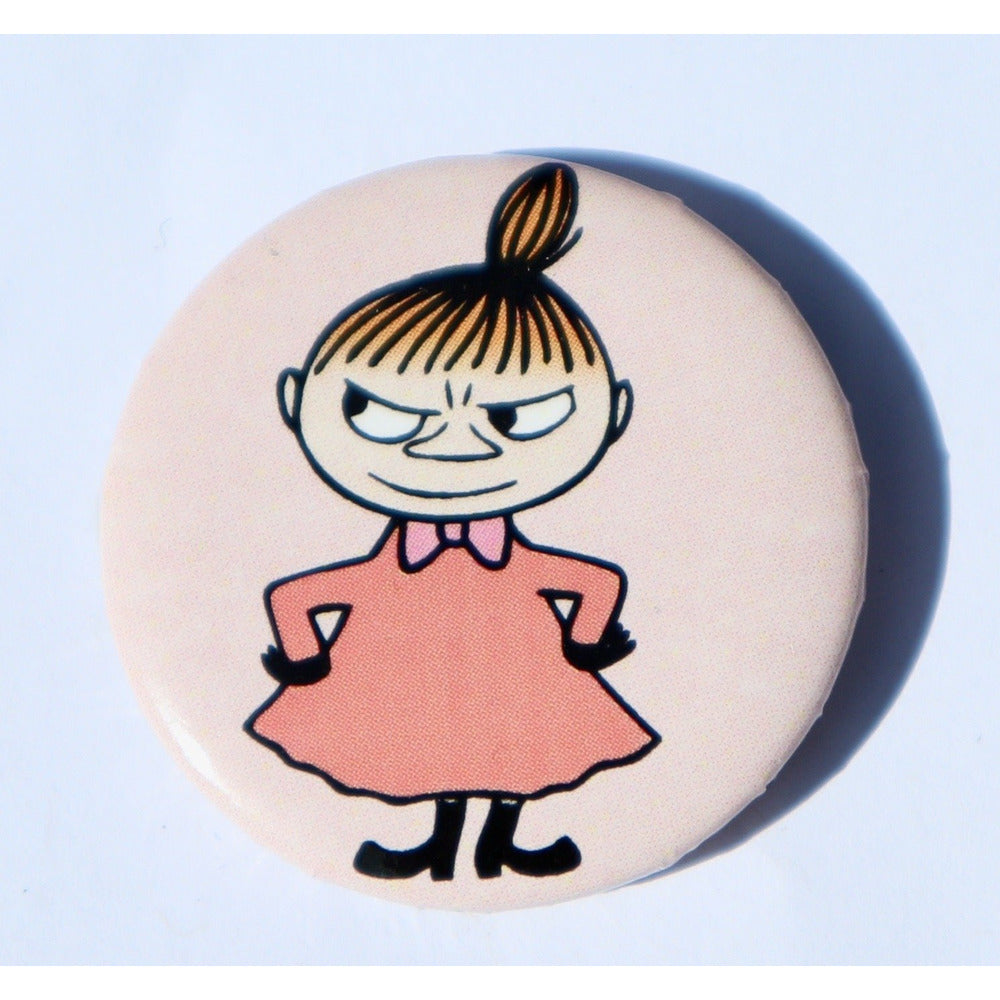 Button Badge Little My Pink - .