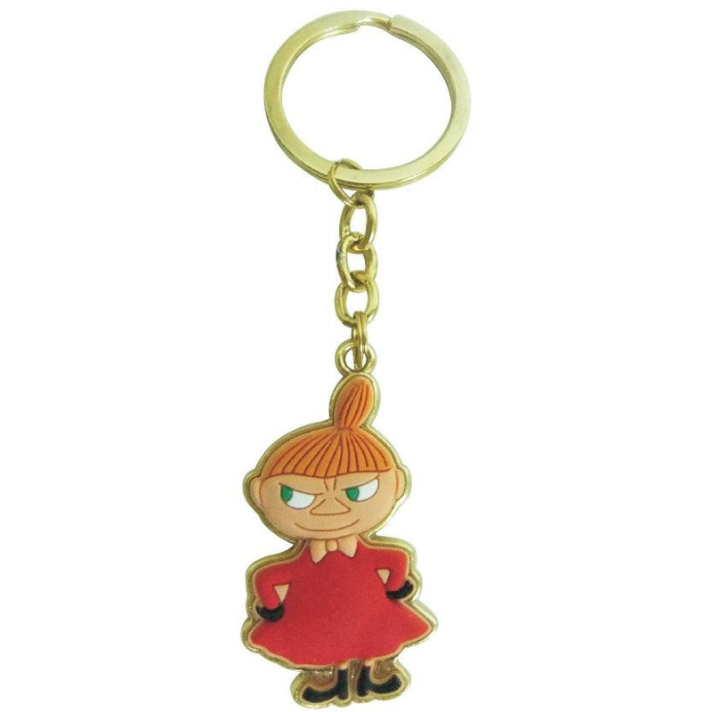 Moomin Metal Keyring Little My