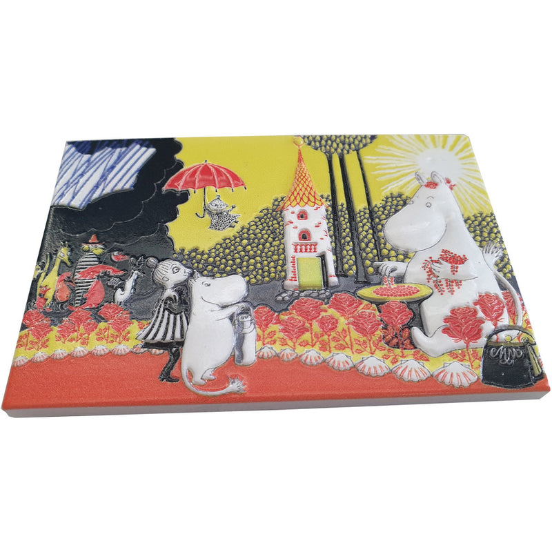 Ceramic Magnet Moominmamma Collects Berries - .