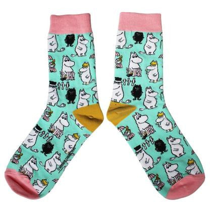 Moomin Family Printed Socks - .