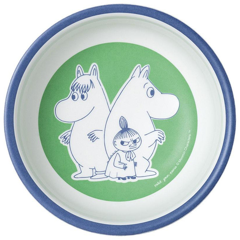 Children's Bowl Melamine Snorkmaiden, Moomintroll And Little My - .