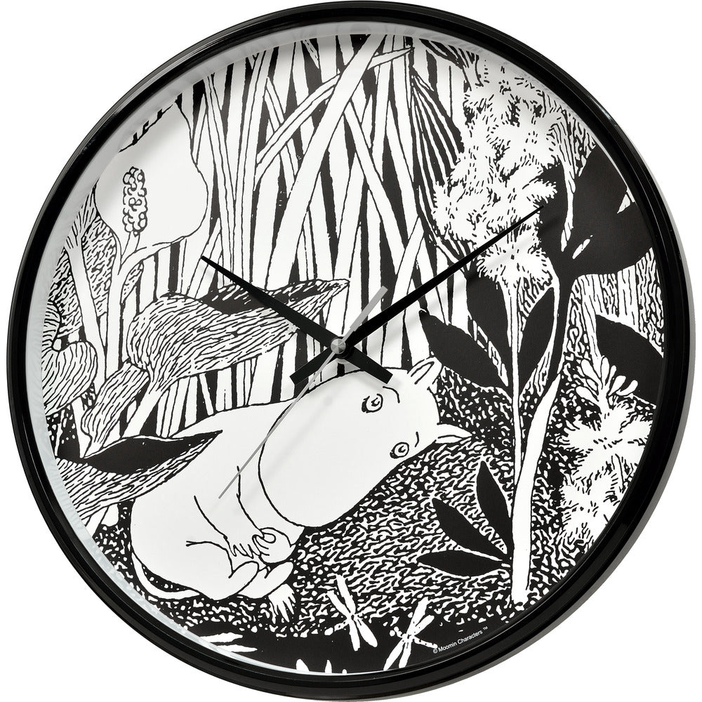 Wall Clock Moomintroll Dreaming