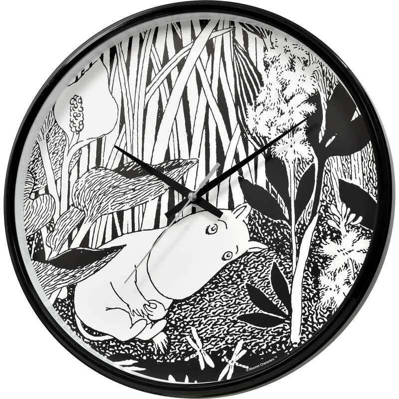 Wall Clock Moomintroll Dreaming - .
