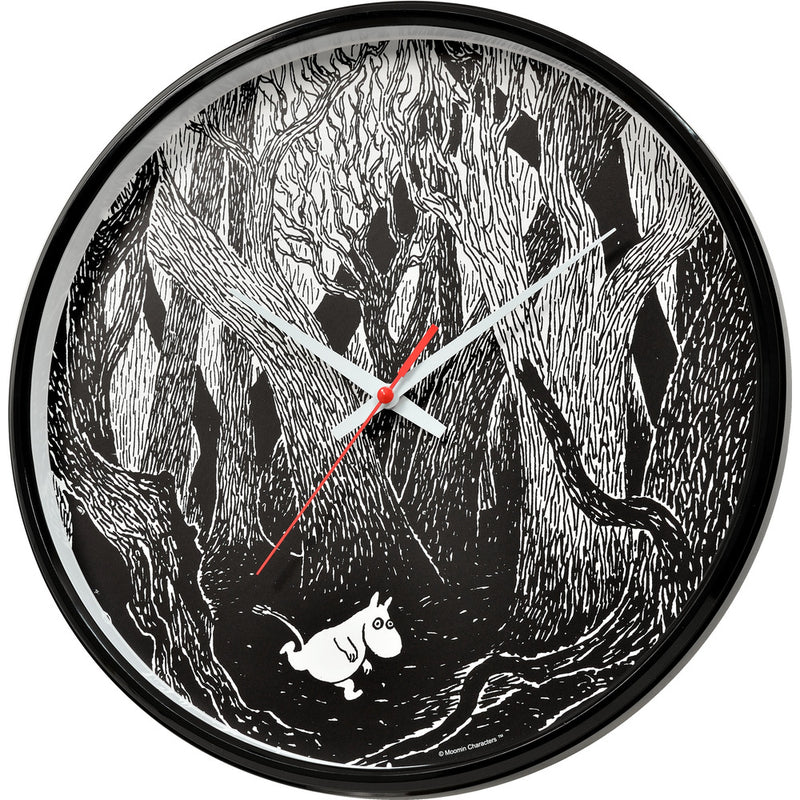 Wall Clock Moomin In Forest