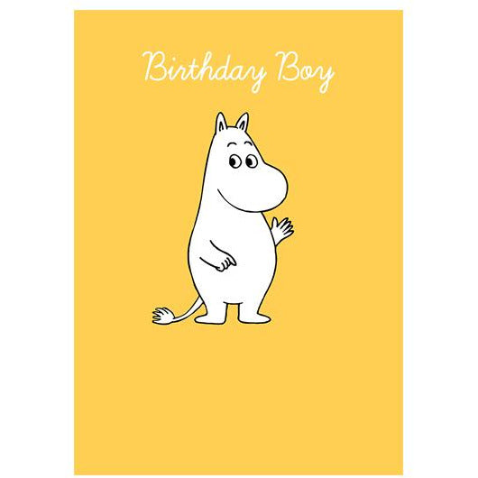 Birthday Boy Moomintroll Yellow - .