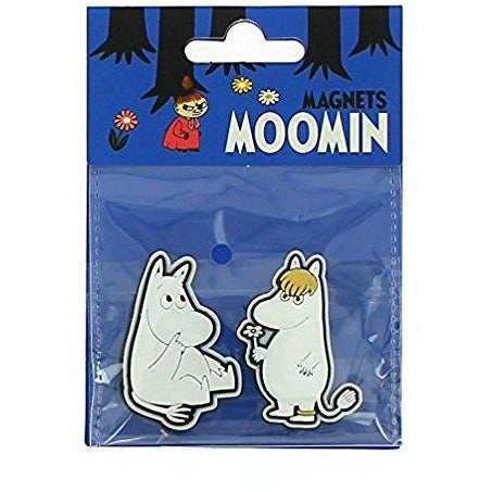 Moomin Soft Magnet Moomintroll and Snorkmaiden - .