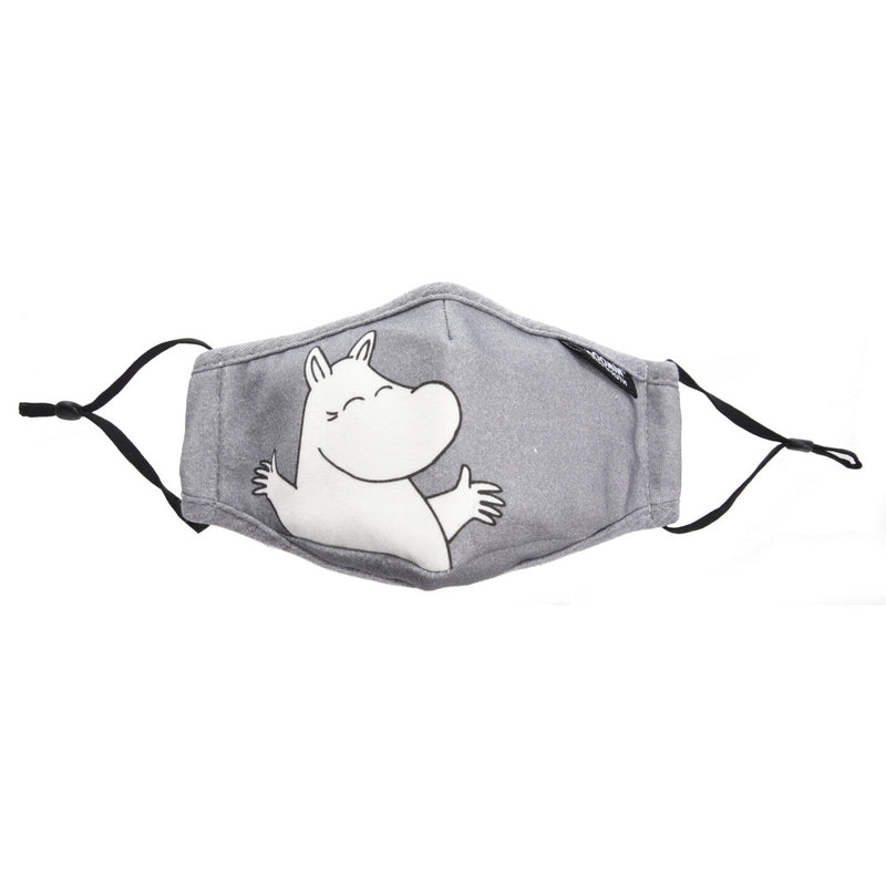 Moomin Face Mask Children's Moomintroll grey