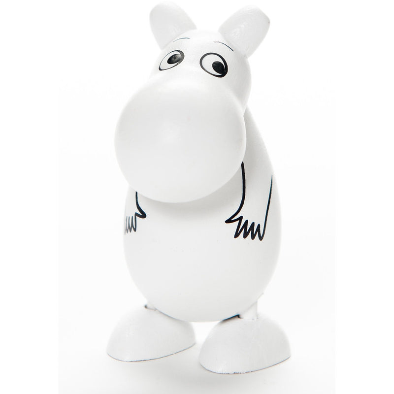 Mini Wooden Doll Moomintroll - .