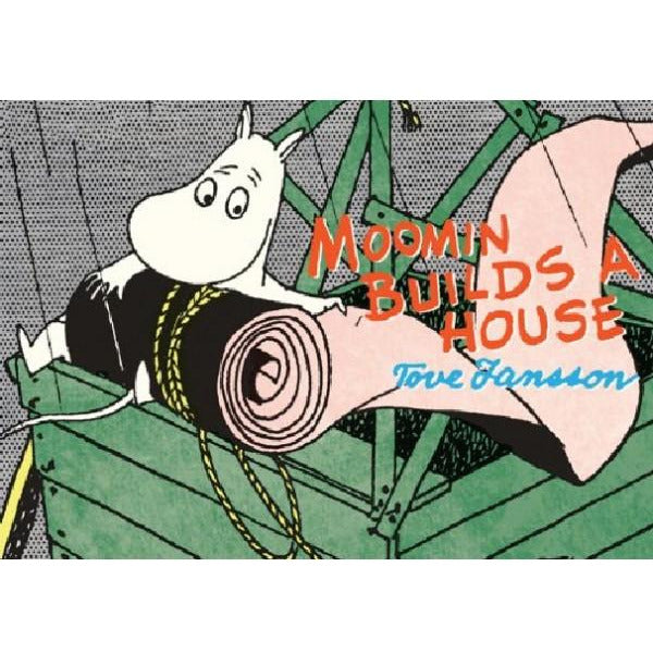 Colour Comic Book Moomin Builds A House - .