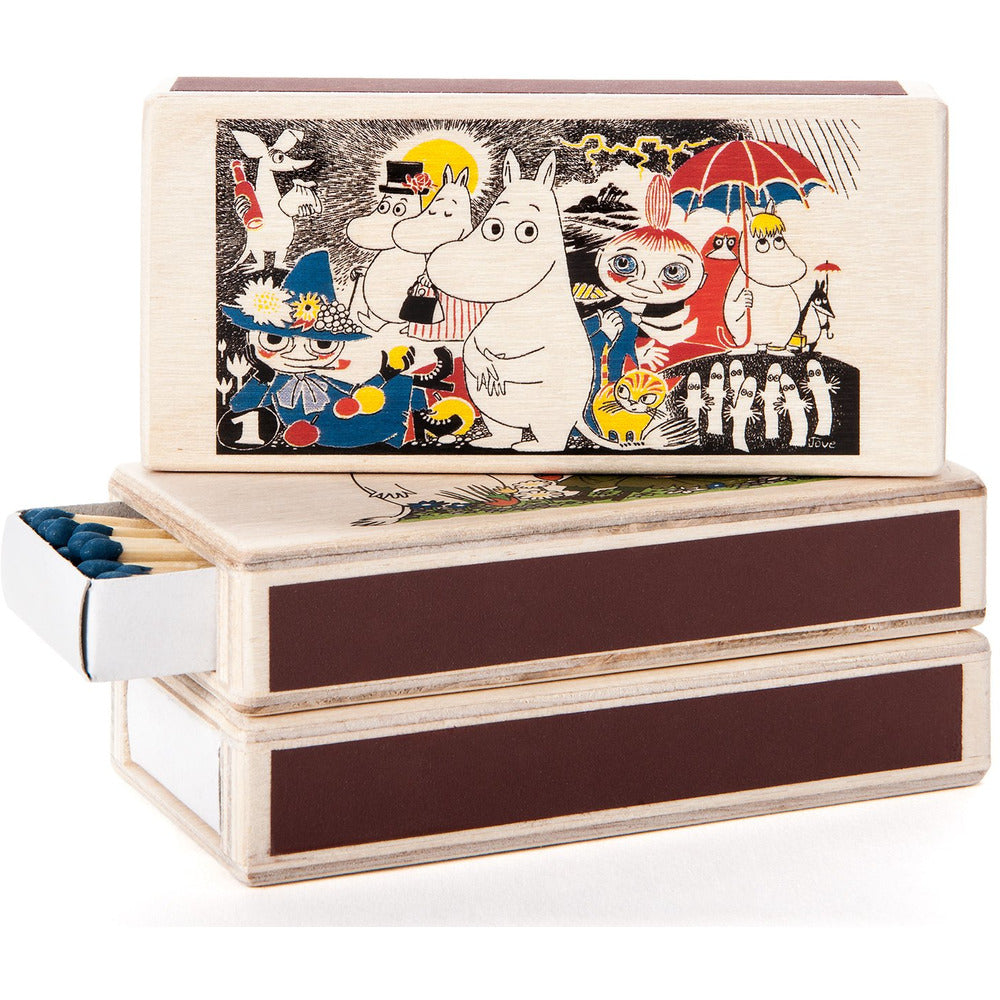 Wooden Match Box Comic 1 - .