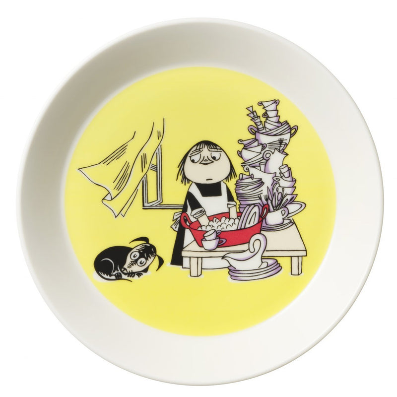 Moomin Plate Misabel Yellow - .