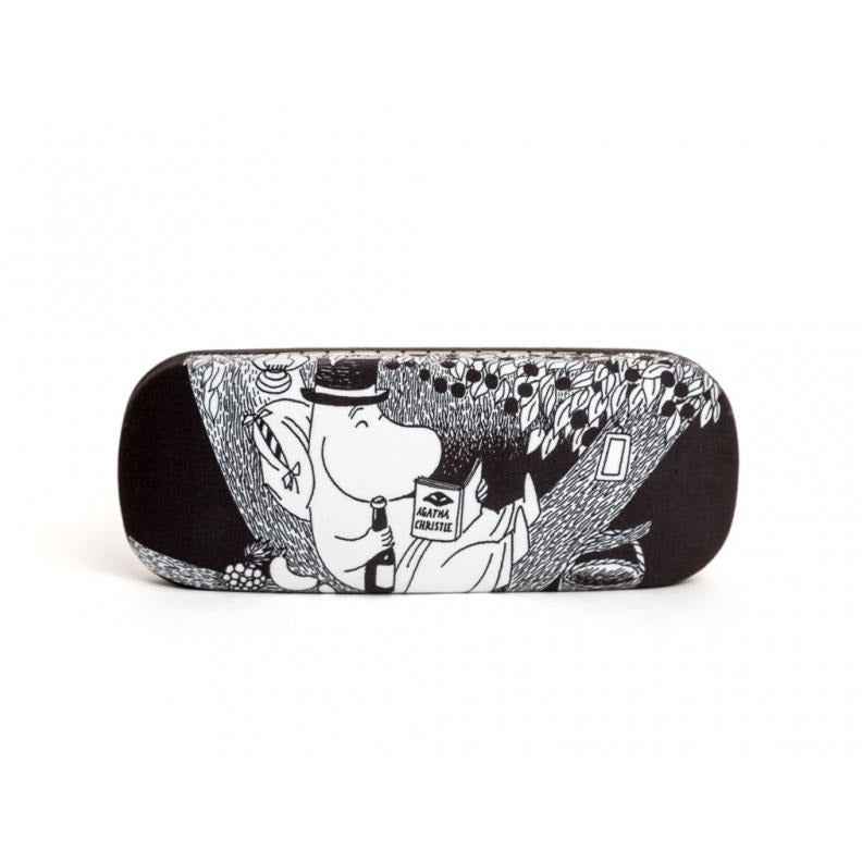Eyeglass Case Moominpappa Reading In Tree - .