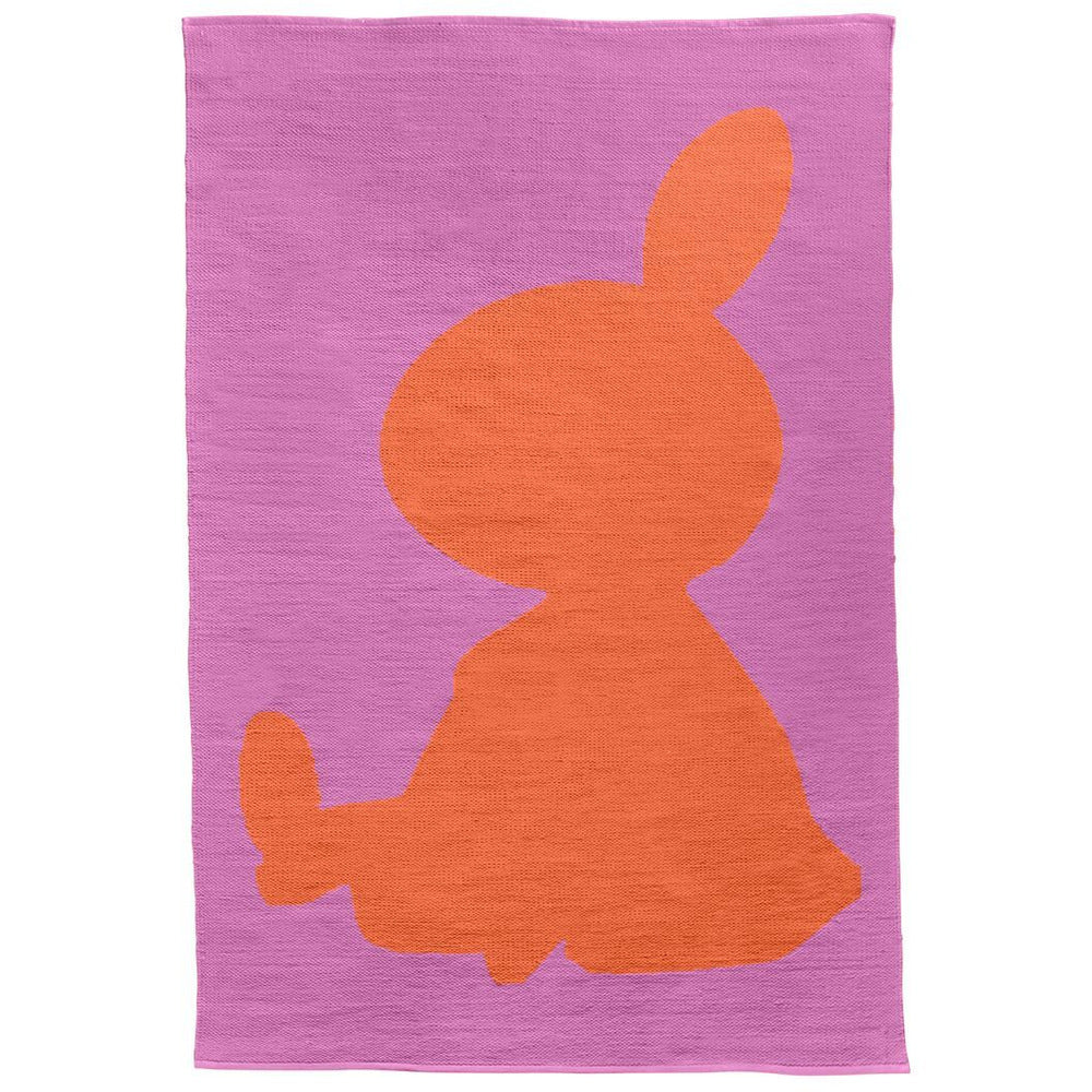 Moomin Rug 140 cm X 200 cm Pink-Orange Little My