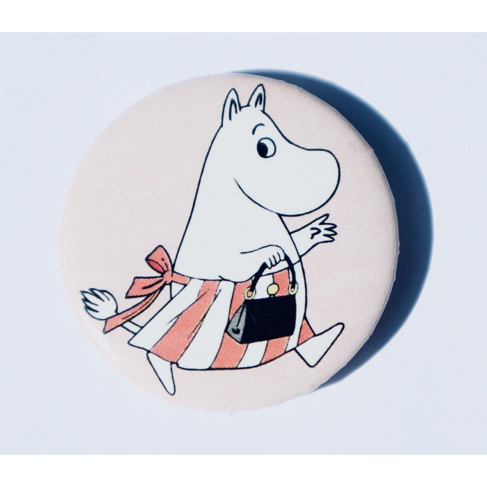 Button Badge Moominmamma Pink - .