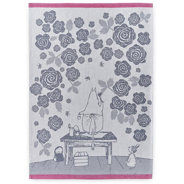 Kitchen Towel Moominmamma's Rose Garden - .