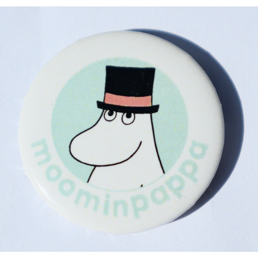 Button Badge Moominpappa Head - .