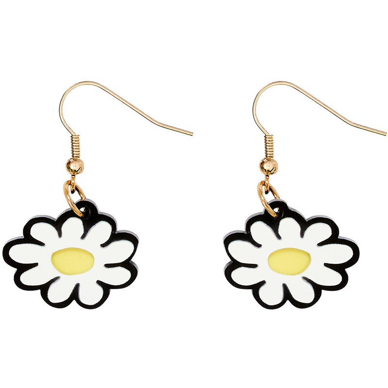 Moomin Daisy Drop Earrings by Tatty Devine - .