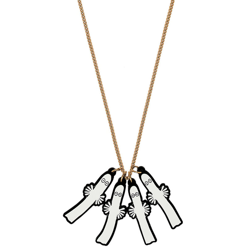 Hattifattener Necklace by Tatty Devine - .
