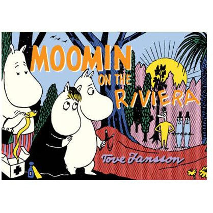Colour Comic Book Moomins On The Riviera - .