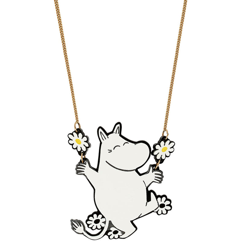 Moomin Daisy Dance Necklace by Tatty Devine - .