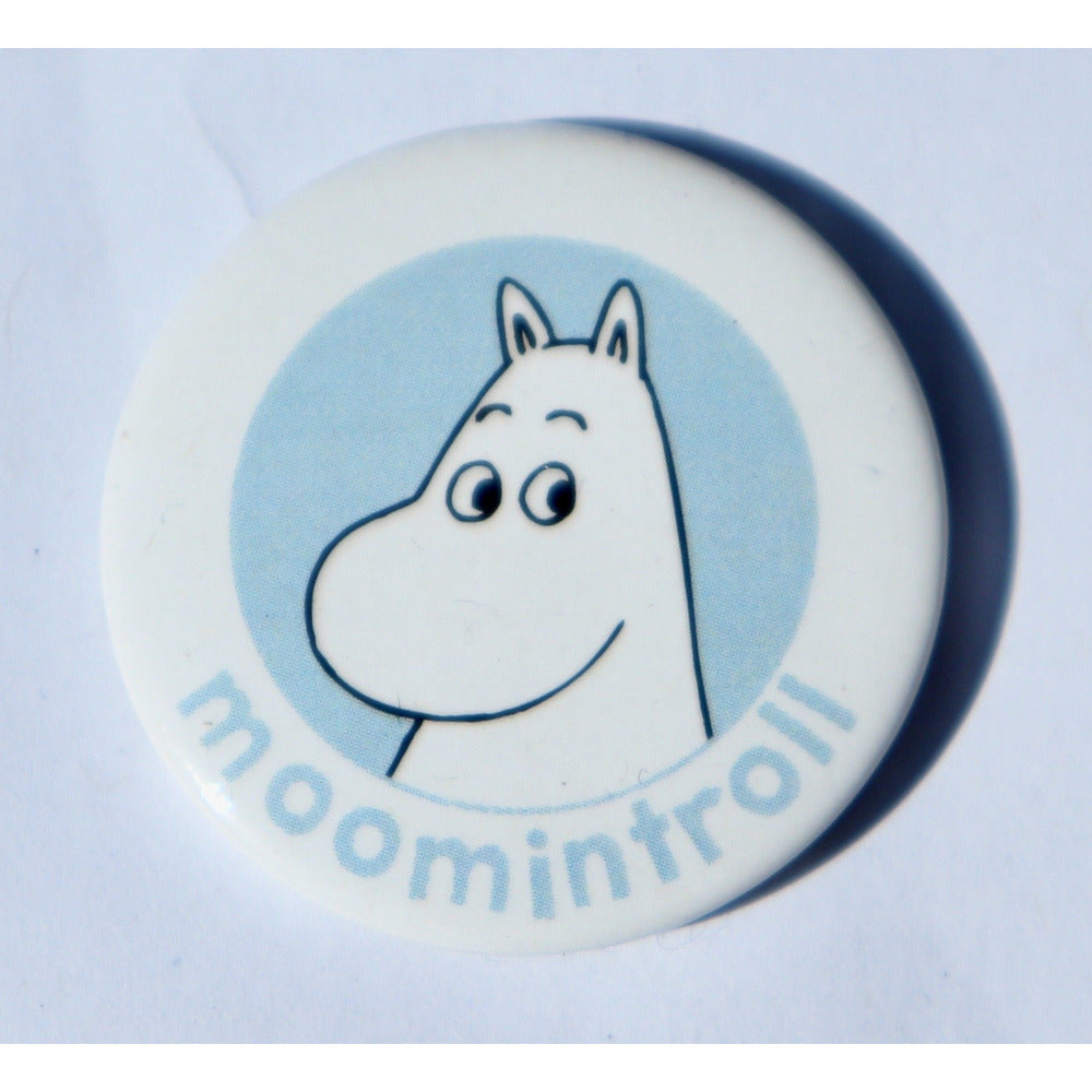 Button Badge Moomintroll - .
