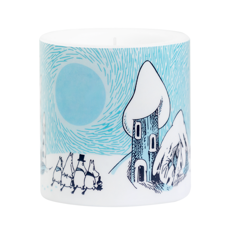 Moomin Candle Snowy Valley